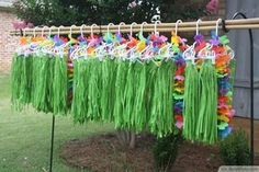 1) Luau Birthday Party Outfit Ideas. 2) Coca-Cola Cans Turned Into Hula…