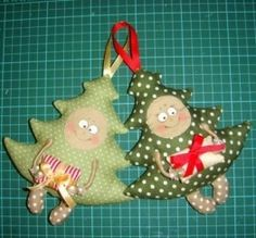 DIY Funny Fabric Christmas Tree