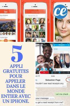 Les 5 Meilleures Apps iPhone Pour Appeler Gratuitement Dans le Monde Entier. Appel Video, Bons Plans, Applications, Brave, Smartphone, Android, Articles, Internet, Apple
