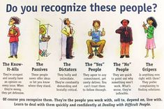 Ways to Deal with Difficult People --- A very good read not only how to deal with difficult people but blossom as the person you really are! Description from pinterest.com. I searched for this on bing.com/images