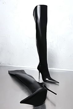 41f0932430fad Made in Italy Leather Over the Knee Boots. All the trends you need in your  closet this season!