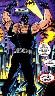 Gotham Belongs To Bane (Batman #498, August 1993) - Art by Jim Aparo & Rick Burchett, Words by Doug Moench