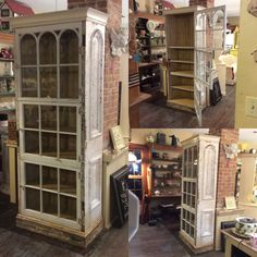 Handmade Cabinets, Repurposed, Sewing Projects, Facebook, Architecture, Antiques, Beach, Home Decor, Upcycled Crafts