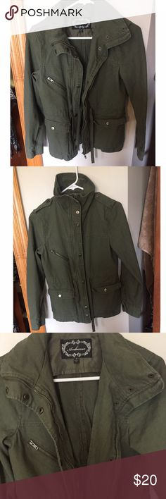 Green jacket Only used a few times in great condition. Ambiance Apparel Jackets & Coats