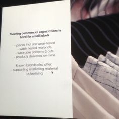 Meeting commercial expectation is hard for small business | @MUUSE in Accademia Costume & Moda