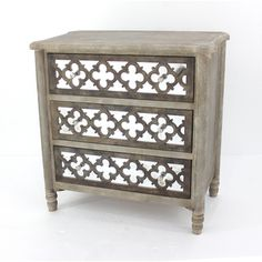 Shop for Wood Drawer Cabinet with Mirror. Get free delivery at Overstock.com - Your Online Furniture Store! Get 5% in rewards with Club O!