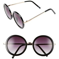 Women s Perverse  Catalina  52Mm Round Sunglasses ( 45) ❤ liked on Polyvore  featuring accessories, eyewear, sunglasses, round frame sunglasses, ... e60828cfca