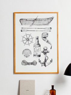 Paper Collective Sailor Poster