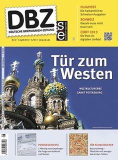 Titelseite Deutsche Briefmarken-Zeitung 8/2013