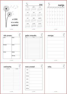 Bullet Journal School, Bullet Journal Inspo, Bullet Journal Agenda, Bullet Journal Printables, Bullet Journal Books, Bullet Journal Ideas Pages, Journal Pages, Journals, To Do Planner