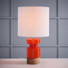 Scandinavian Glass Table Lamp - Small #westelm