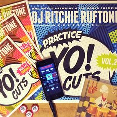 Look what the mailman got us today!  Thank you @ritchieruftone !!  New contest(s) coming up in January 2016! Stay tuned for more info!  RitchieRuftone.com TTW.bigcartel.com  Download TableBeats free on the App Store and get funky with tons of dope beats!  Direct link in bio.  #TableBeats #TableBeatsApp #RitchieRuftone #TTW #turntablism #contest by tablebeats_app http://ift.tt/1HNGVsC