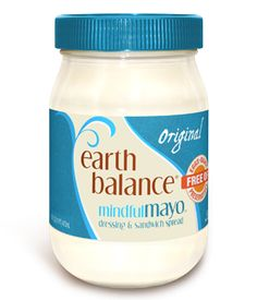 "Allergen Free: Dairy, Egg, Soy, Earth Balance ""mayo"" Original. My 15 yr. old allergy kid is now enjoying 'real' tuna & chicken salad sandwiches. I think  ""mayo"" potato salad may be next. Thank you for your products Earth Balance!"