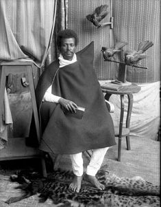 Ethiopian highland man of prominence from Gojam in 1912 G.C
