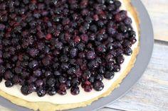 Blueberry Pizza Recipe: Blueberry Pizza