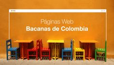 Las páginas web más bacanas de Colombia