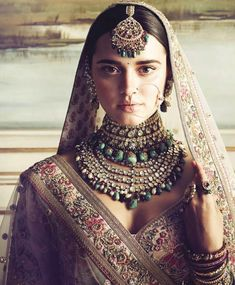 What's better than being a Sabyasachi bride and donning one of his creations for your big day? Topping it up with a bridal jewellery set from the grand master to go along with it. We delve into the Sabyasachi jewellery collection. Indian Wedding Jewelry, Indian Jewelry, Indian Weddings, Indian Dresses, Indian Outfits, Indian Clothes, Indian Couture, Indian Designer Wear, Indian Beauty