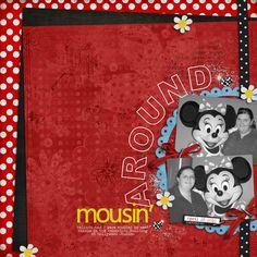 Mousin' around