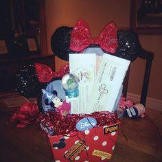 Disney charity auction basket