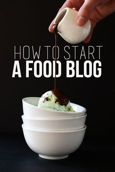 3 STEPS - How to Start a Food Blog