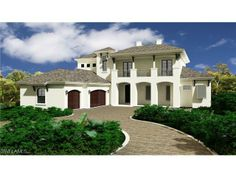 West Indies style new construction home on Whispering Pine Way | Park Shore | Naples, Florida
