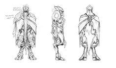 character concept art | Starcraft 2 Armory - Media - Concept Artwork - Zeratul Concept