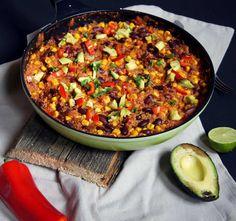 vegane Quinoa-Chilli-Pfanne Rezept