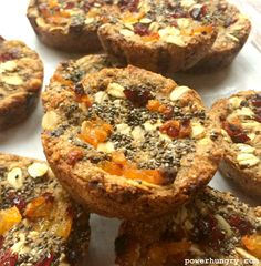 Amaranth-Chia Protein Bars {vegan & gluten-free} | power hungry