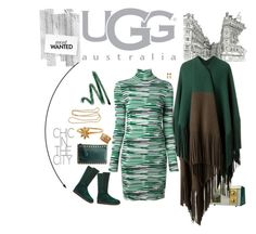 """""""Boot Remix with UGG : Contest Entry"""" by riquee ❤ liked on Polyvore featuring UGG Australia, Burberry, STELLA McCARTNEY, Valentino, Ashley Pittman, Chanel and STONE"""