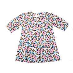 Egg by Susan Lazar Corduroy Floral Dress (Multi)