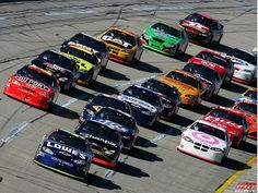 watch a NASCAR race