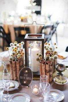 wedding centerpiece idea; photo: Todd Pellowe