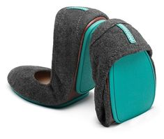 Shine from head to toe in exquisite Slate Grey Tieks. These crinkle, shiny, chic Italian leather flats are sure to add romance to any look, casual or cocktail. Tieks Ballet Flats, Tieks Shoes, Women's Shoes, Fancy Shoes, Flat Shoes, Brian Atwood, Tieks By Gavrieli, Leather Flats, Italian Leather