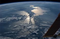 The Great Lakes.  KN from space.