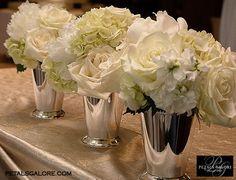 small white arrangements