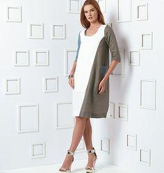 Mccall Pattern V9081 8-10-12-14-Vogue Pattern
