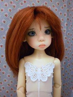 BJD MSD Unitard White Butterfly Kaye Wiggs Chateau Doll Dollstown Dollmore | eBay