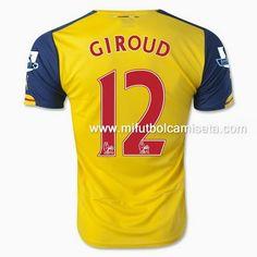 camiseta de Giroud 1st Arsenal 2015 imitacion