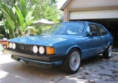 1981 VW Scorocco Turbo ABA 18T For Sale Front
