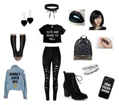 """""""Me"""" by kpoptrash69 ❤ liked on Polyvore featuring Journee Collection, Philipp Plein, Casetify and Boohoo"""