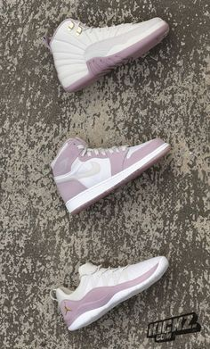 """Ladies will love this! From the Jordan """"Heiress Collection"""" we bring you the Jordan Deca Fly, Air Jordan 1 Retro High Premium & Air Jordan 12 Retro Premium."""