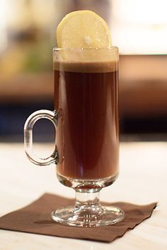 10 GORGEOUS & Easy Cocktail Recipes To Survive The Chill  #refinery29  http://www.refinery29.com/56737#slide6  Hot Buttered Rum at Sepia  A chunk of buttery dough dropped in each glass makes this rum drink from Sepia extra sinful.   Ingredients:   Spiced butter dough (recipe to follow)  3/4 oz Smith & Cross Jamaican rum  ¾ oz Cruzan Black Strap rum  1/3 cup hot water  1 lemon wheel Steps:   1. Place one spiced butter dough ball in a hot toddy glass and add rum.   2. Top with hot ...