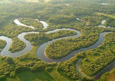 Река Пра. Рязанская область