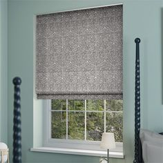 Dorado Smoke Grey Roman Blind from Blinds 2go