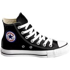 Converse Unisex M3310 Chuck Taylor All Star Hi Style Sneaker ($14) ❤ liked on Polyvore featuring shoes, sneakers, chucks, star shoes, converse trainers, wide width shoes, star sneakers and wide fit shoes