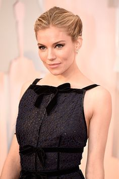 At the Oscars: Charlotte Tilbury channels old Hollywood for Sienna Miller