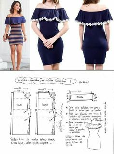 ideas for sewing clothes diy dress free pattern Sewing Dress, Dress Sewing Patterns, Diy Dress, Sewing Patterns Free, Sewing Clothes, Sewing Tutorials, Clothing Patterns, Diy Clothes, Pattern Dress
