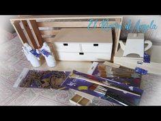 Haul de materiales para manualidades, madera, pinceles, Belenes para pintar y mas -DIY Manualidades - YouTube