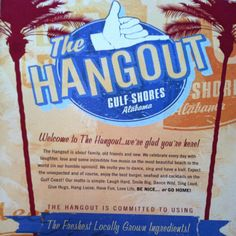 I LOVE this place!! The Hangout!