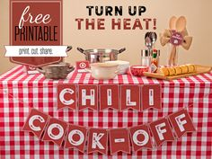 How to Host (and Win) a Chili Cook-Off - American Lifestyle Magazine How To Cook Chili, Chili Cook Off, Cooking Chili, Cooking Supplies, Cooking Classes, Cooking Games, Cooking School, Cooking Recipes, Chili Party